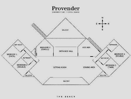 Floor Plan for Provender